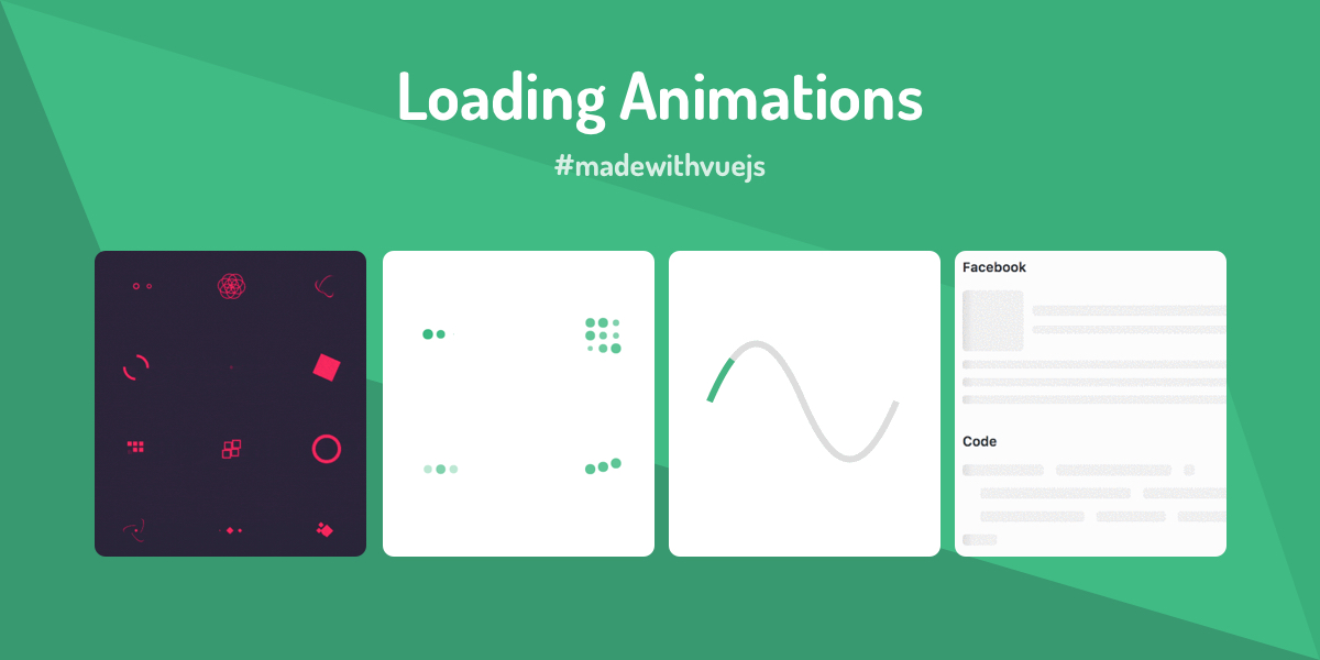 Loading Animations - Made with Vue js