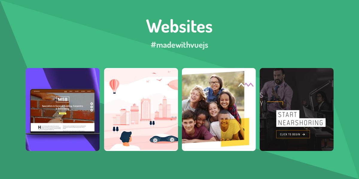 Websites - Made with Vue js