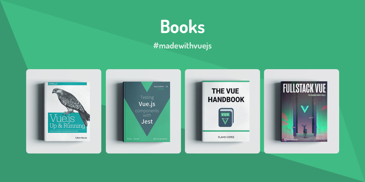 Books - Made with Vue js