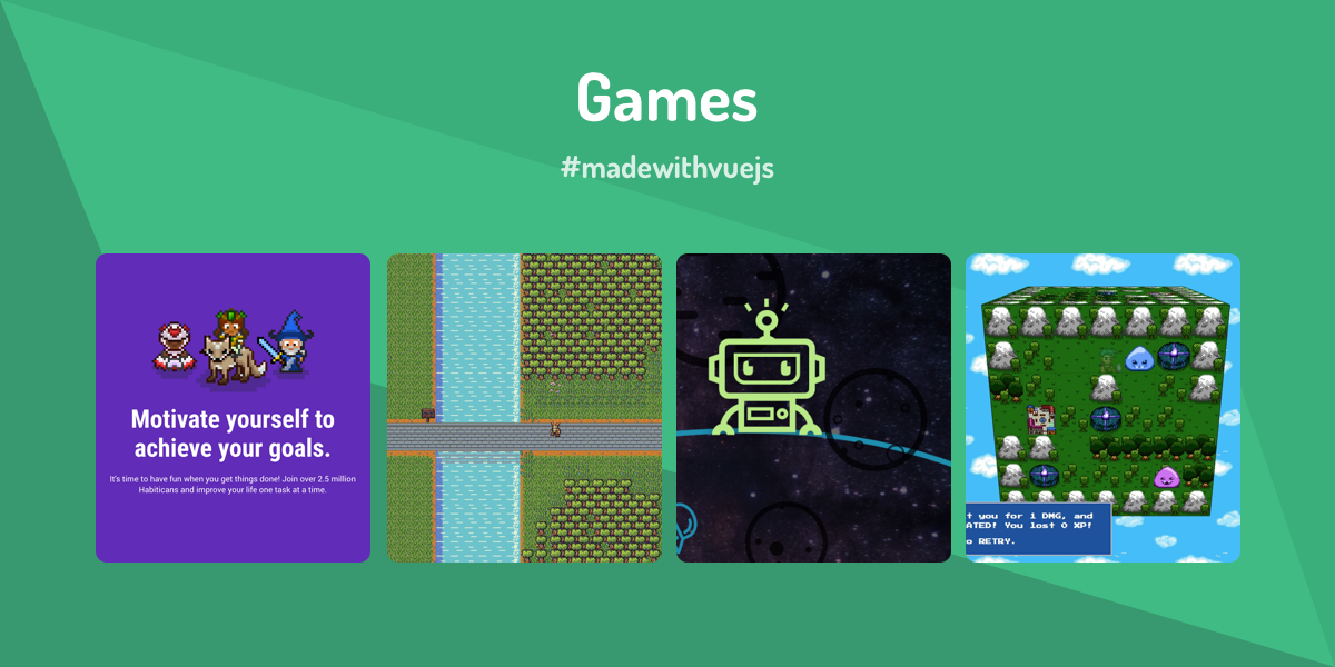 Games - Made with Vue js