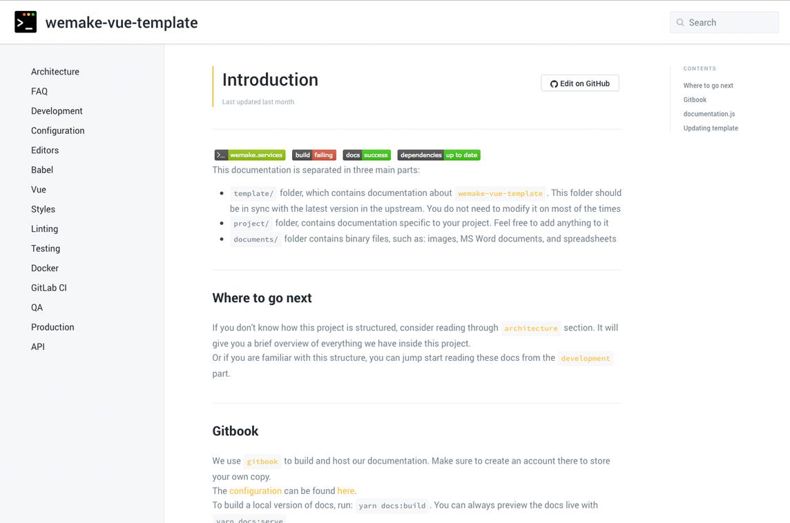 wemake-vue-template - Made with Vue.js
